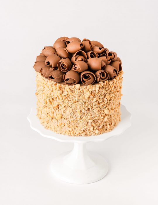 Chocolate Hazelnut Cakes