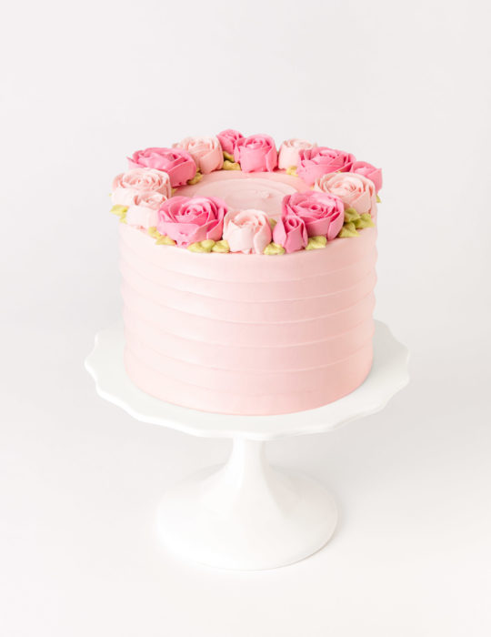 Buttercream Rose Cake – (Duplicate Imported from WooCommerce)