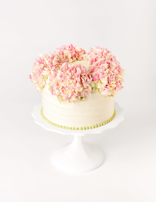 Buttercream Hydrangea Cake – (Duplicate Imported from WooCommerce)