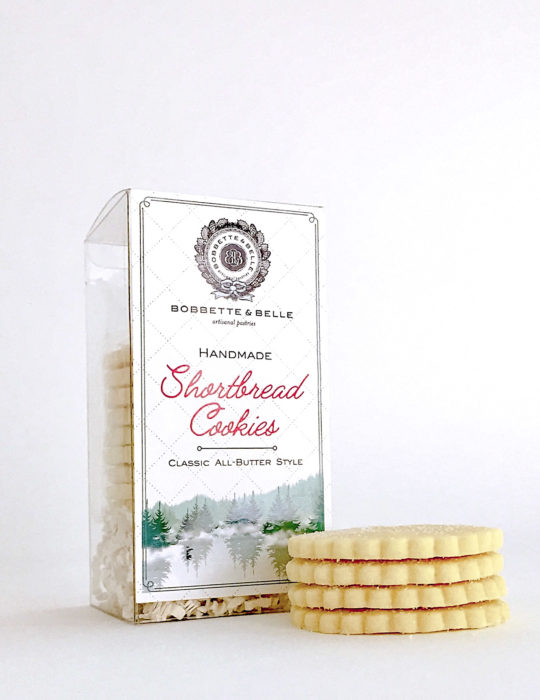 Shortbread Clear Box
