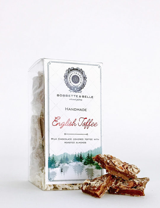 English Toffee Clear Box