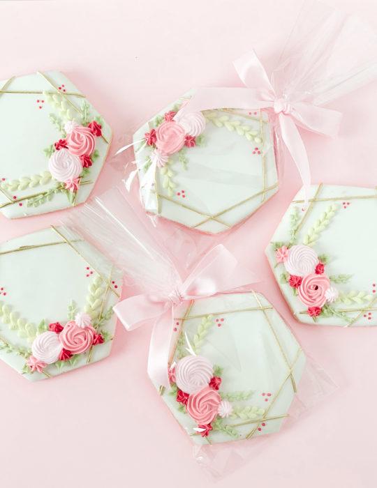 Modern Floral Sugar Cookie