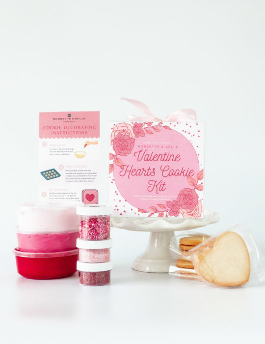 Valentine Hearts Cookie Kit