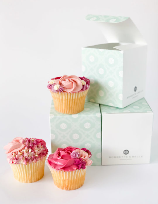 Individually Packaged Valentine's Cupcakes