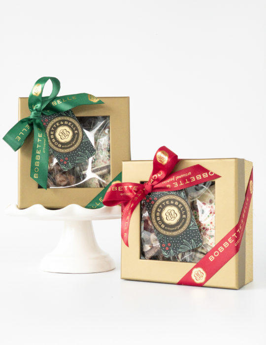 English Toffee & Peppermint Bark Gift Box