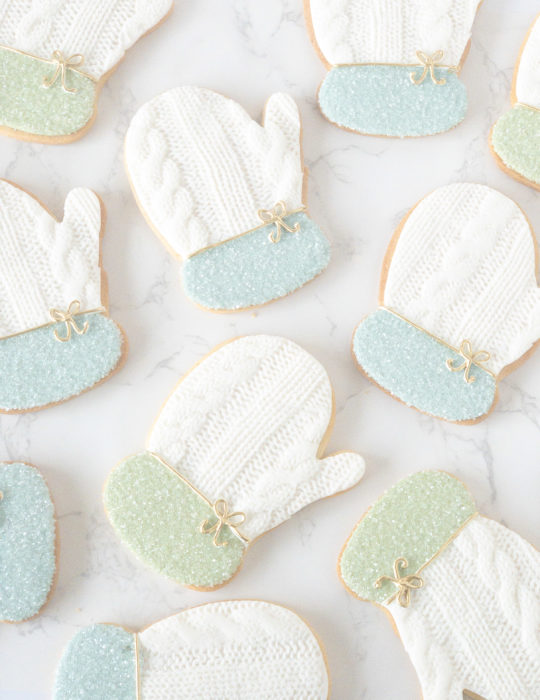 Winter Mitten Sugar Cookie