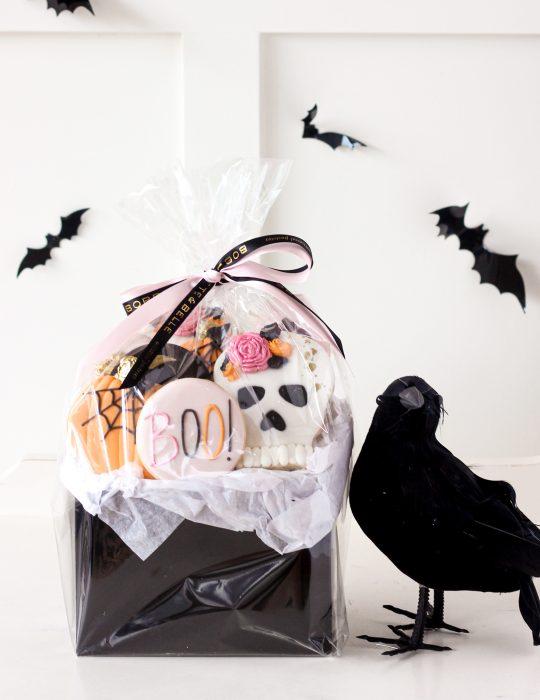 Halloween Sugar Cookie Collection (Basket)