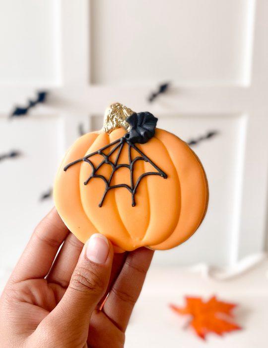Decorative Packaged Pumpkin Cookie